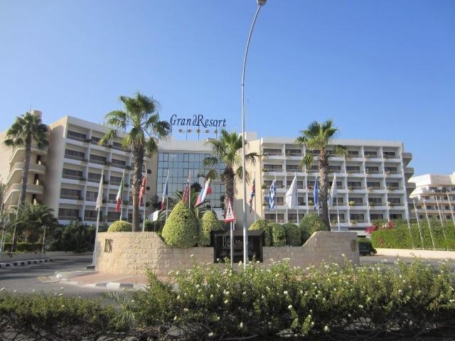 Отель GRAND RESORT 5* в Лимассоле (Кипр)
