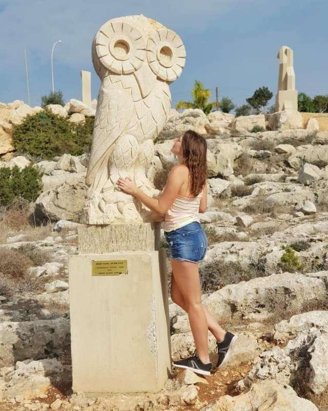 Парк скульптур рядос с Айя Напой