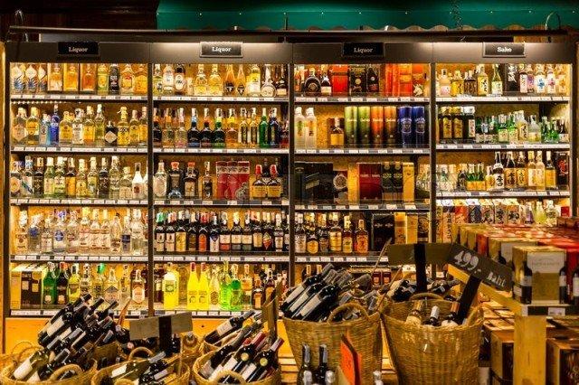 Алкоголь супермаркет