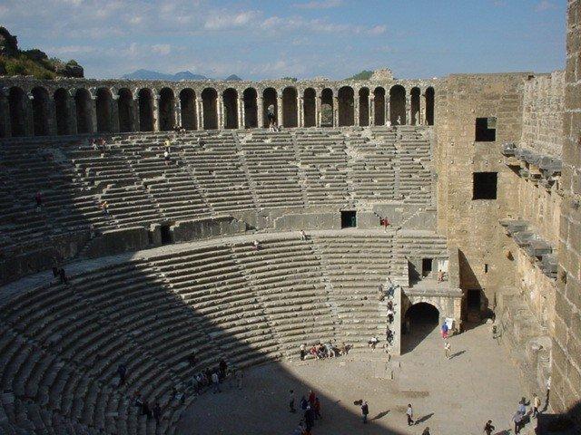 Амфитеатр «Аспендоса»