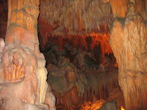 Пещера Дамлаташ в Алании (Турция)