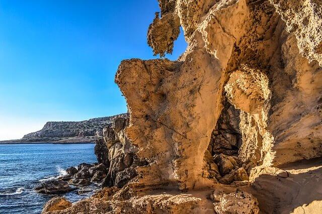 Эрозия скальных пород в заповеднике