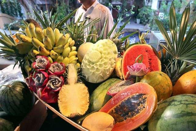 Таиланд фрукты