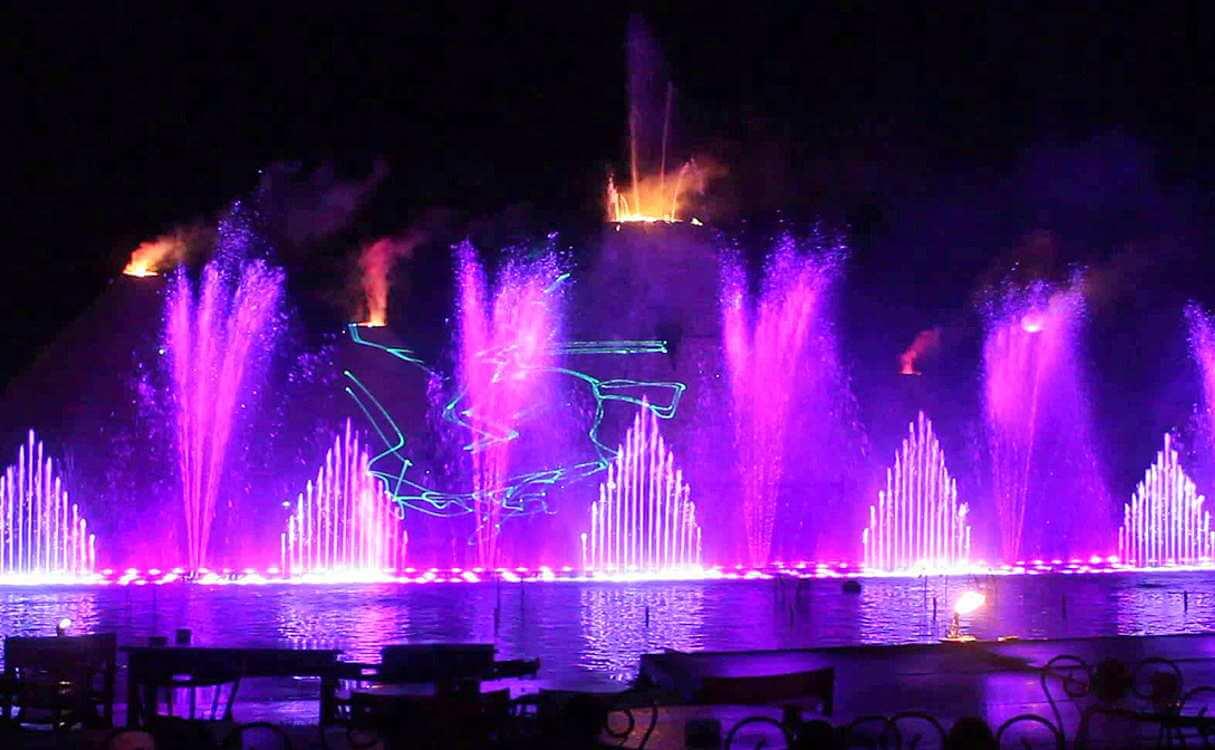 Танцующие фонтаны Протараса
