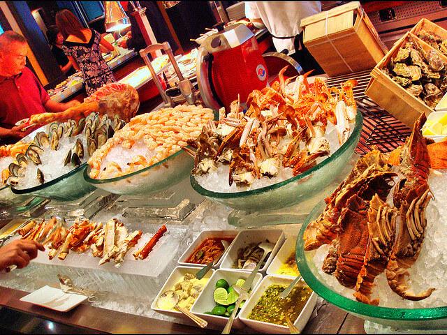 Морепродукты в Протарасе