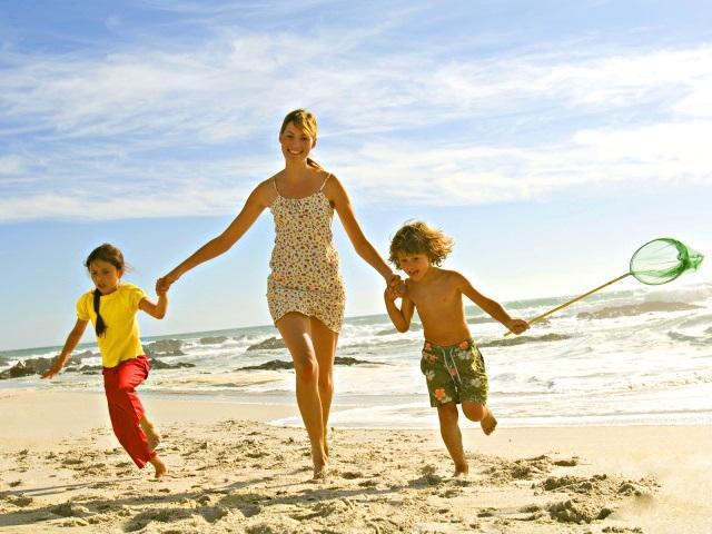 Самостоятельное путешествие на море с детьми
