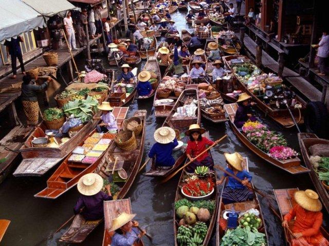 Бангкок рынок