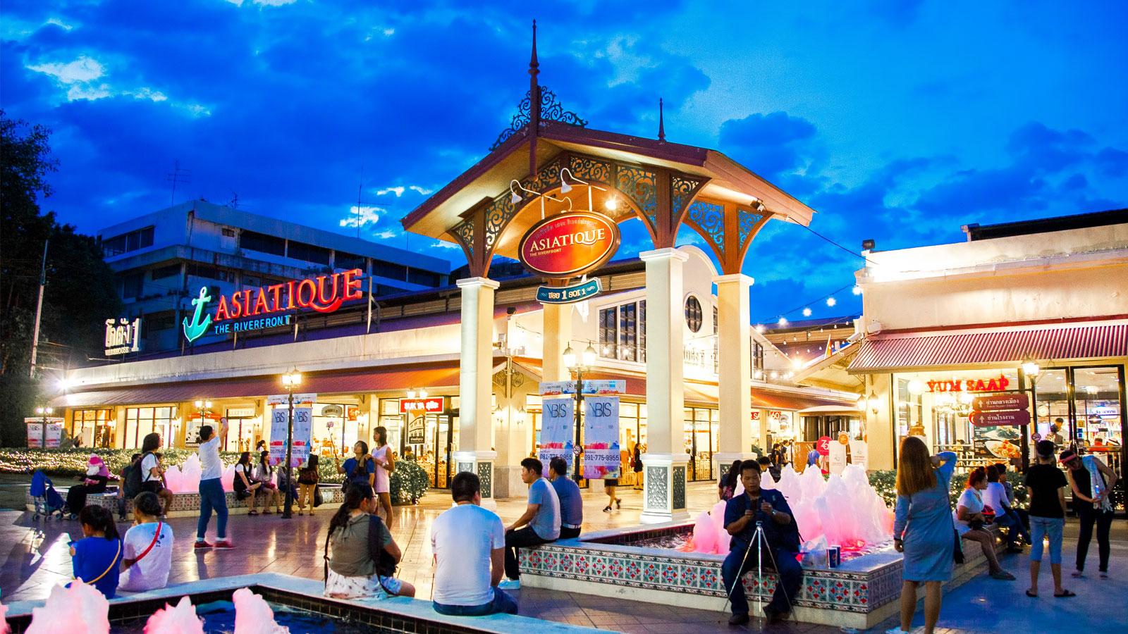 Один из торговых центров Бангкока