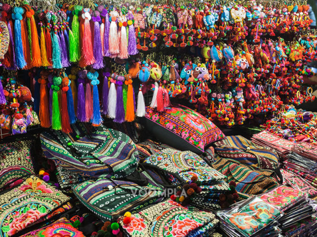 Текстиль в Бангкоке