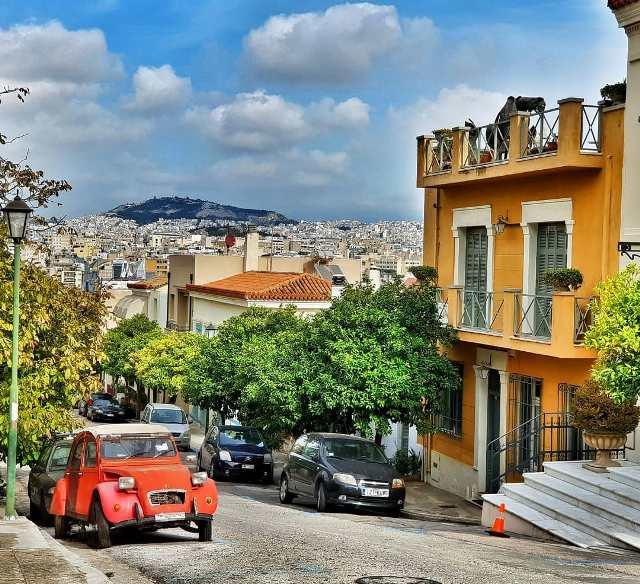 Афинские улочки