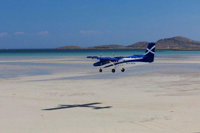 Аэропорт на острове Барра