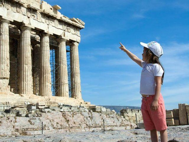 Афины в детьми. Куда сходить?