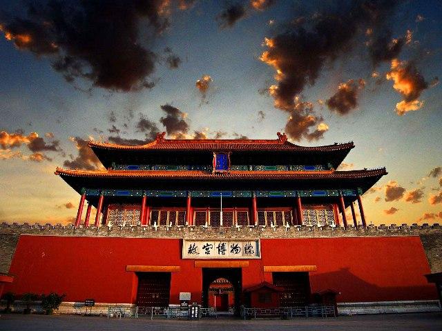 Императорский дворец в Запретном Городе Пекина