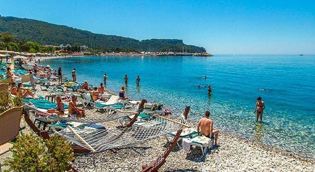 Галечные пляжи Кемера (Средиземное море)