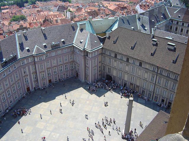 Старый Королевский Дворец (Starý královský palác) в Пражском Граде