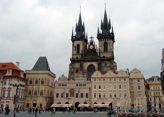 Тынский храм (Týnský chrám) в Праге