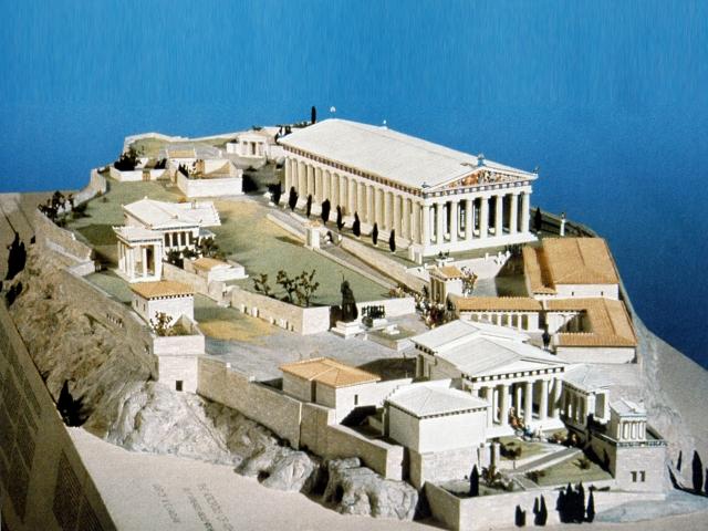 Акрополь в Афинах (макет)