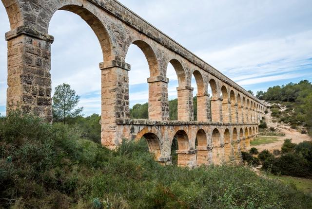 Чертов мост (римский акведук), Таррагона, Коста-Дорада