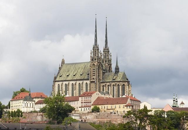 Собор св. Петра и Павла в Брно Чехия