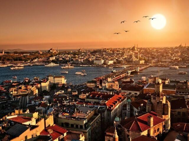 Стамбул - город на двух континентах
