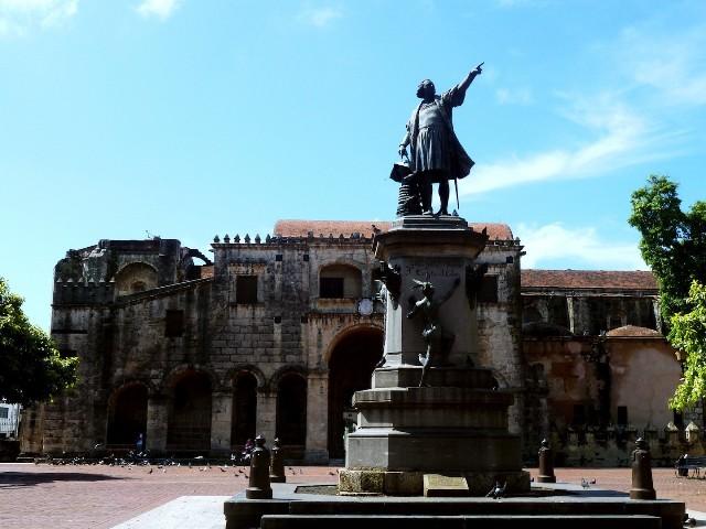 Площадь Колумба Санто-Доминго Доминикана