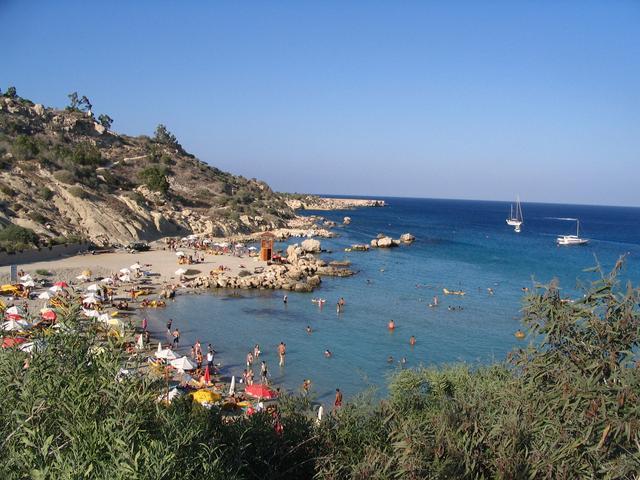 Конос Бич - один из лучших пляжей Протараса