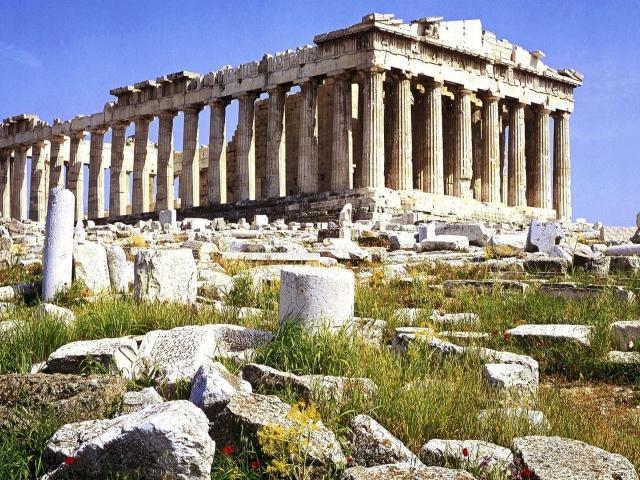 Храм Парфенон (Афины, Греция)