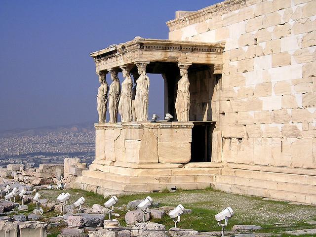 Афинский Парфенон - одна из главных достопримечательностей Греции