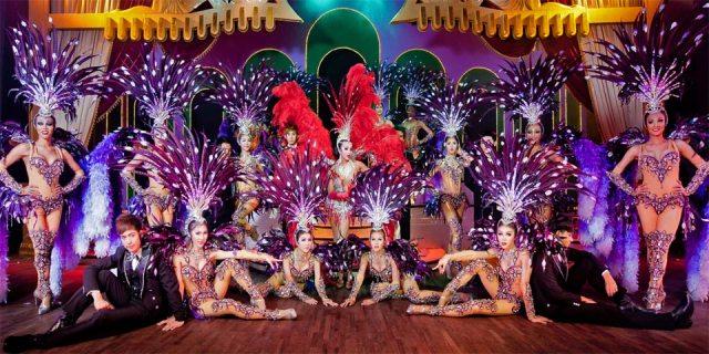 Саймон Кабаре - одно из самых красочных транс шоу в мире