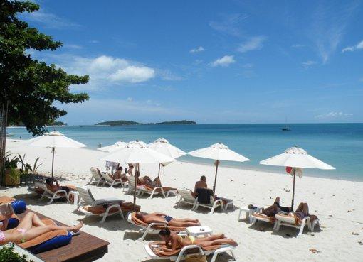 Белоснежные пляжи острова Самуи