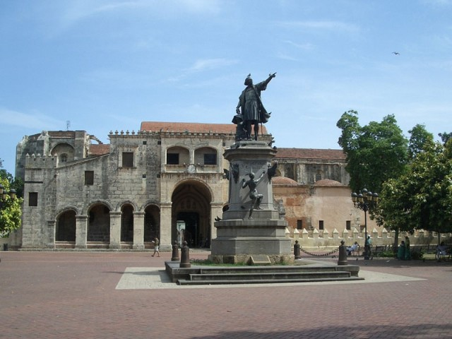 Площадь Колумба в Санто Доминго
