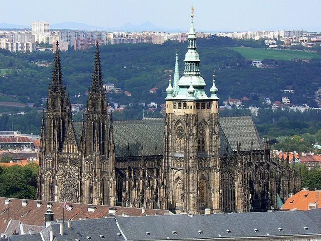 Собор Святого Витта в Праге Чехия