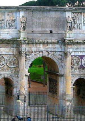 Arcus Constantini (триумфальная арка Константина в Риме)