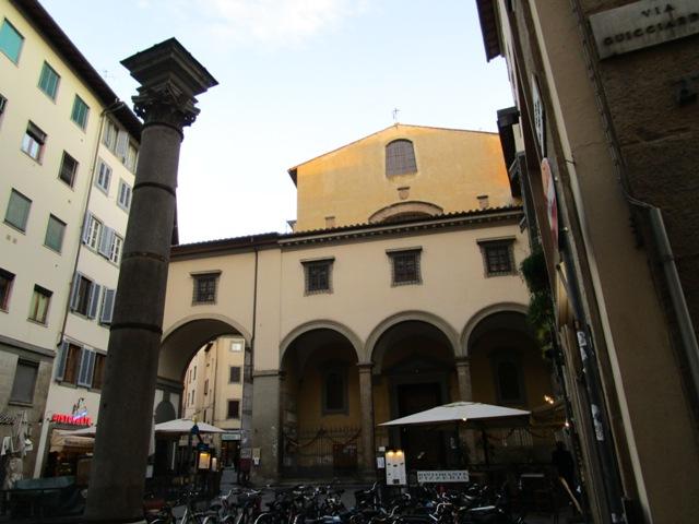 Church of Santa Felicita (Церковь святой Фелицитаты во Флоренции)