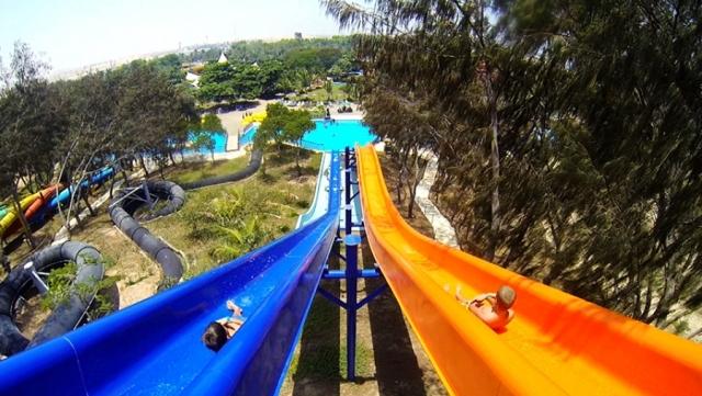 Аквапарк Dreamland - лучшее место для отдыха с детьми в Умм алб Кувейне