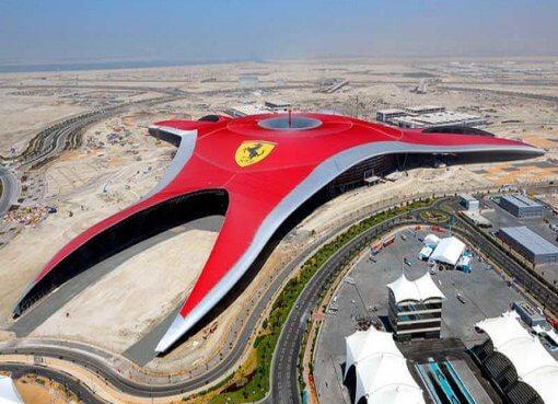 Парк развлечений для детей и взрослых Ferrari World