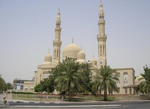 Мечеть Джумейра (Jumeirah Mosque) в Дубаи