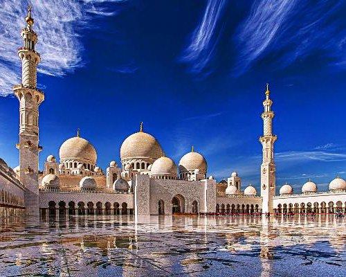 Мечеть шейха Зайда - сверкает и поражает