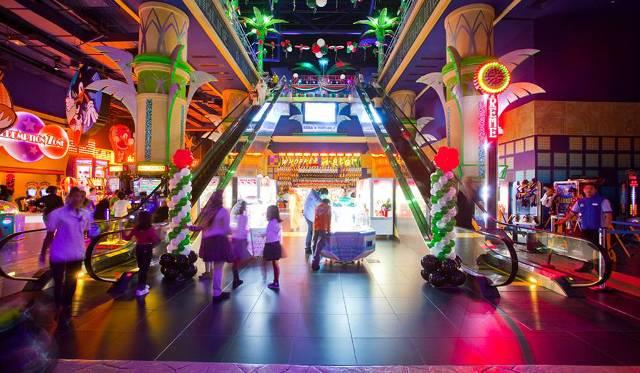 Тематический Парк Sega Republic в Дубаи Молл