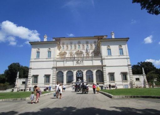 Вилла Боргезе в Риме (Villa Borghese)