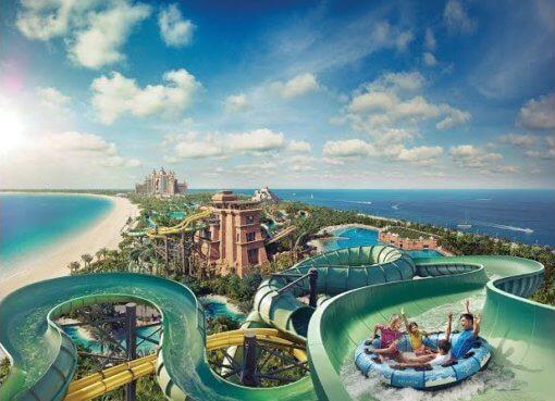 Atlantis Aquaventure Water Park - лучший аквапарк в Дубай