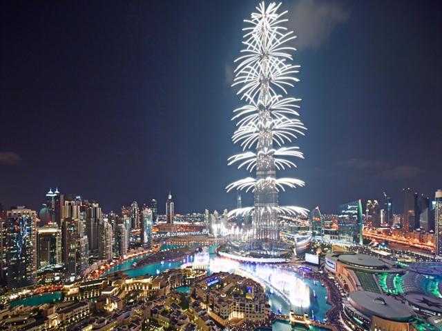 Бурдж-Халифа - самое высокое здание в мире расположено именно в ОАЭ