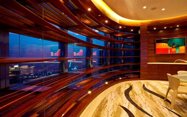 Интерьеры внутри самого высокого небоскреба в мире