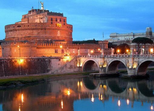 Замок Святого Ангела в Риме (Castel Sant'Angelo)