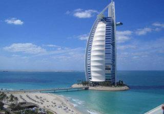Дубай отели 5 звезд с видом на море