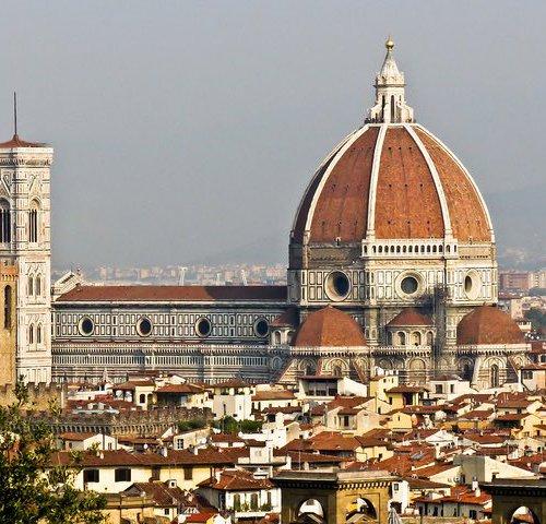 La Cattedrale di Santa Maria del Fiore (Санта Мария дель Фьоре во Флоренции)