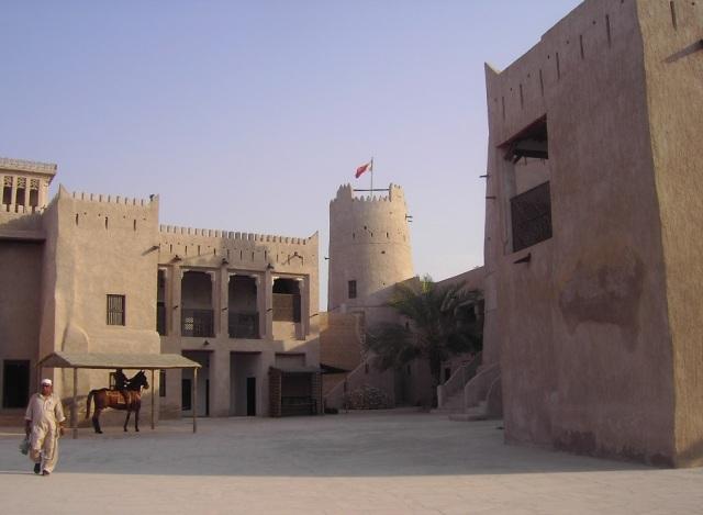 Крепость Аджмана - главная историческая достопримечательность эмирата