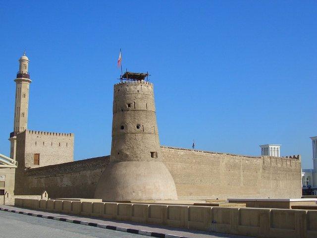 Форт Аль-Фахиди в Дубаи (ОАЭ)