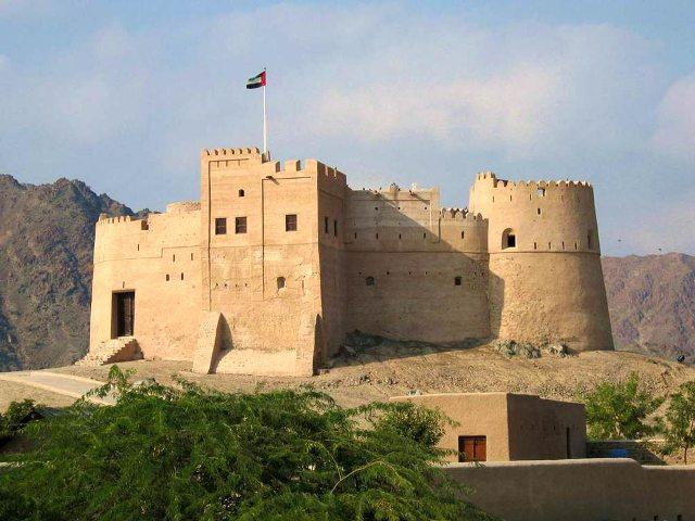 Форт Фуджейры - главная историческая достопримечательность эмирата