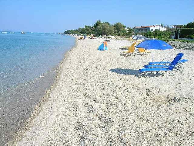 Пляжи на полуострове Халкидики